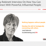 """Stories provide inspiration plus simulation"": Judy Robinett and the guys at ILoveMarketing.com show you  how"